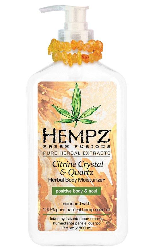 Фото крема Hempz Citrine Crystal & Quartz