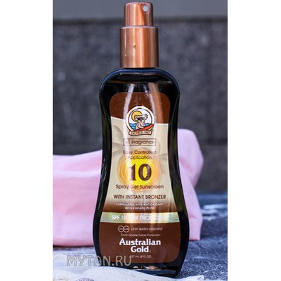 Фото крема SPF 10 Spray Gel with bronzer