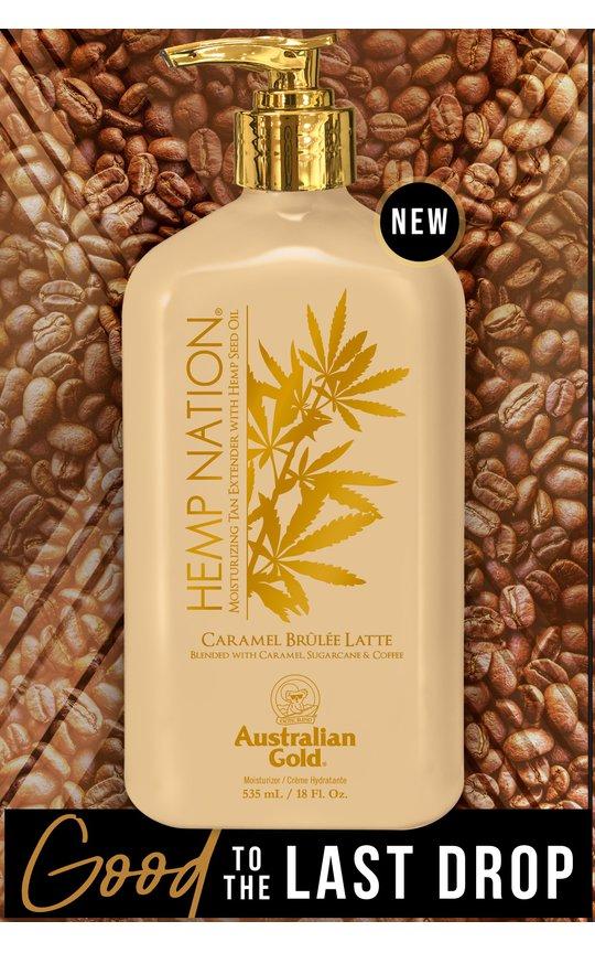 Фото крема Hemp Nation Caramel Brulee Latte