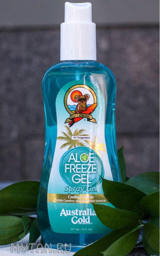 Фото крема Aloe Freeze Spray Gel