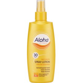 Фото крема Aloha SPF 30 Spray