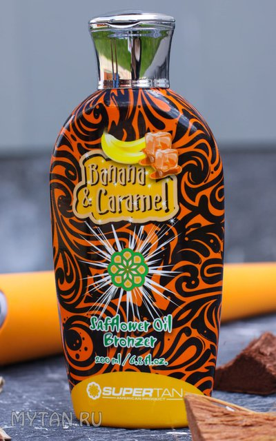 Фото крема SuperTan Banana & Caramel