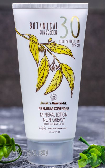Фото крема Botanical SPF 30 Lotion
