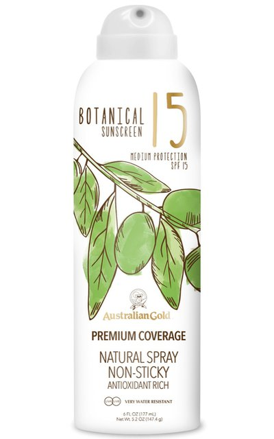 Фото крема Botanical SPF 15 Natural Spray