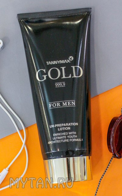 Фото крема TannyMaxx Gold 999,9 For Men UV-Preparation