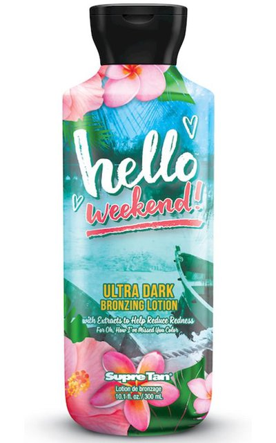 Фото крема Hello Weekend Ultra Dark Bronzing Lotion