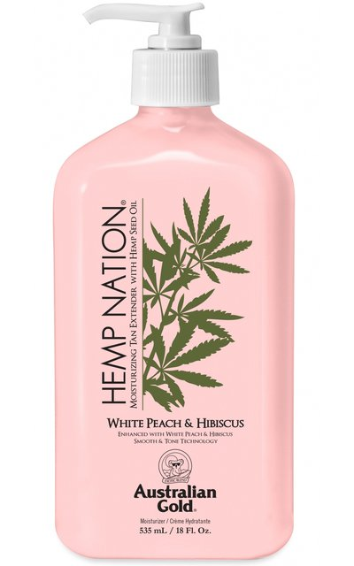 Фото крема Hemp Nation White Peach & Hibiscus