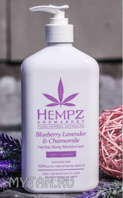 Фото крема Hempz Blueberry Lavender & Chamomile