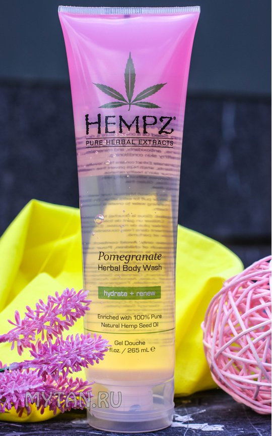 Фото крема Hempz Body Wash Pomegranate