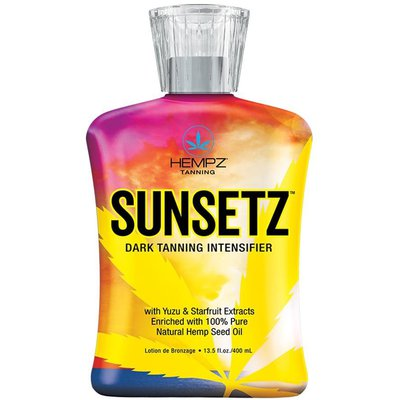 Фото крема Hempz Sunsetz Dark Tanning Intensifier