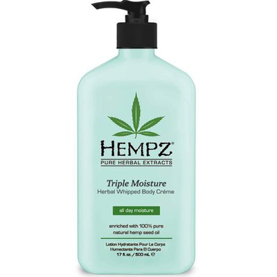 Фото крема Hempz Triple Moisture Herbal Whipped Creme