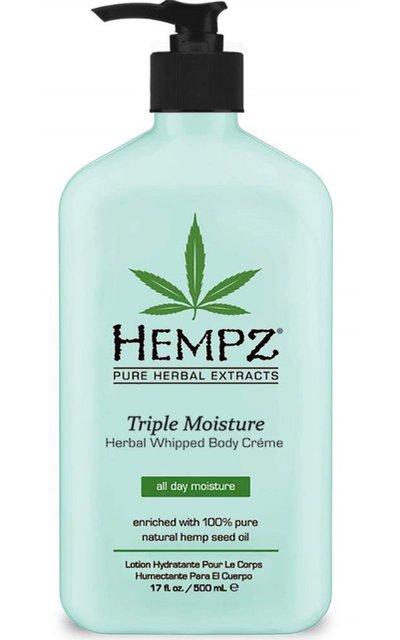 Фото крема Hempz Triple Moisture Herbal Whipped Creme