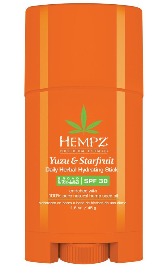 Фото крема Hempz Yuzu&Starfruit Hydrating Stick SPF30