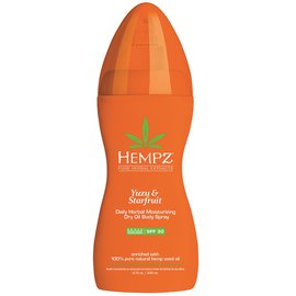 Фото крема Hempz Yuzu&Starfruit Dry Oil Body Spray SPF30