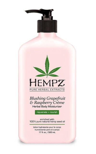 Фото крема Hempz Blushing Grapefruit & Raspberry Creme Herbal Body Moisturizer