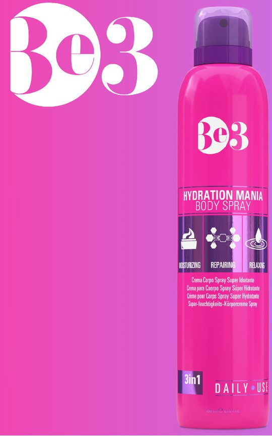 Фото крема Be3 Hydration Mania Body Spray