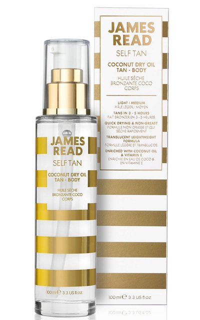 Фото крема James Read Coconut Dry Oil Tan Body