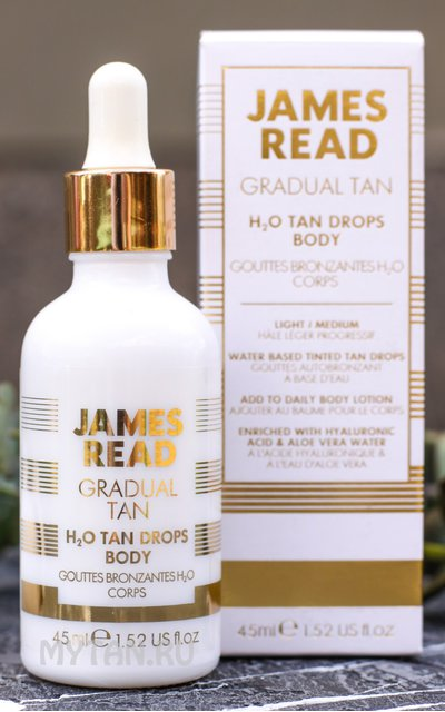 Фото крема James Read H2O Tan Drops Body