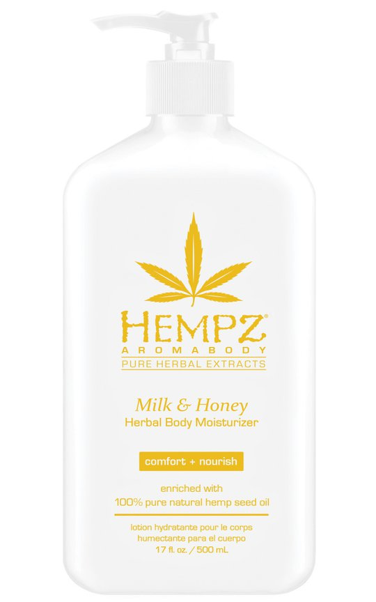 Фото крема Hempz Milk & Honey Herbal Body Moisturizer
