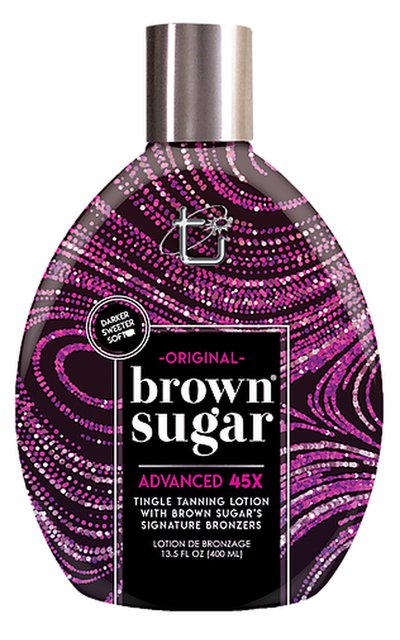 Фото крема Original Dark Brown Sugar Advanced 45 Hot Bronzer Tingle