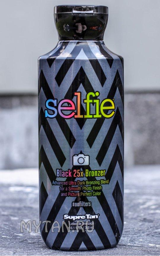 Фото крема Selfie Black 25x Bronzer