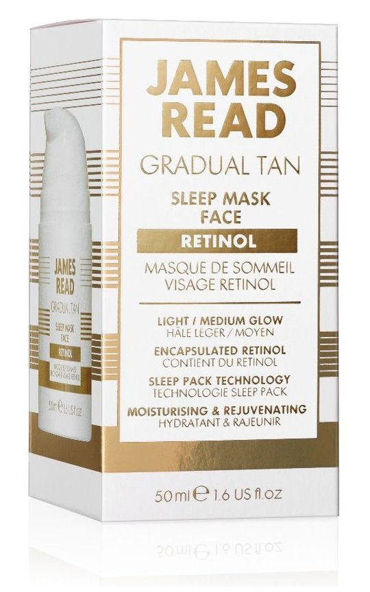Фото крема James Read Sleep Mask Face With Retinol