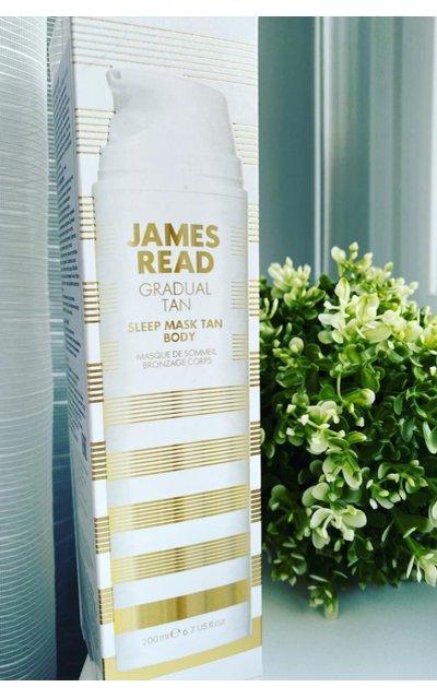 Фото крема James Read Sleep Mask Tan Body