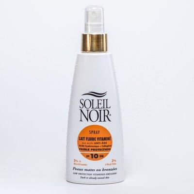 Фото крема Soleil Noir Lait Fluide SPF 10