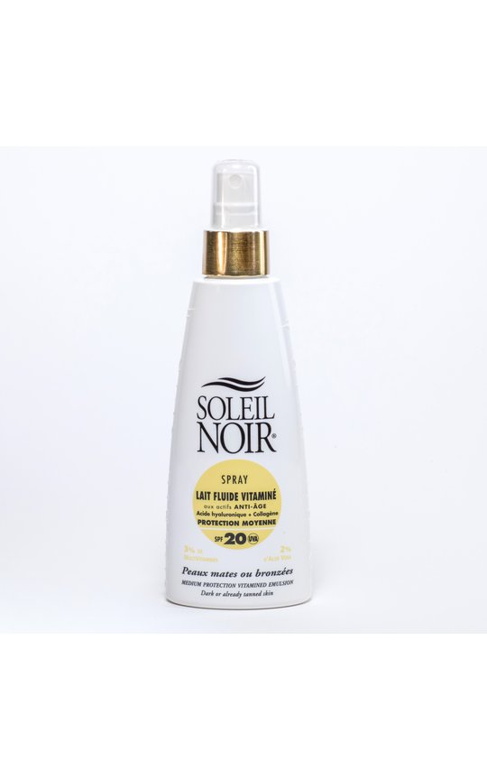 Фото крема Soleil Noir Lait Fluide SPF 20