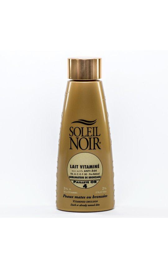 Фото крема Soleil Noir Lait Vitamine SPF 4 Shine
