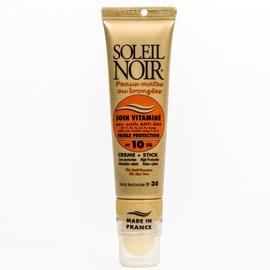 Фото крема Soleil Noir Soin Vitamine SPF 10 + Stick SPF 30