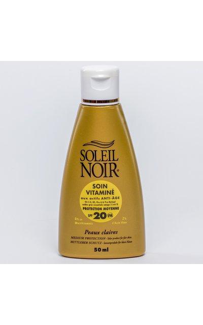 Фото крема Soleil Noir Soin Vitamine SPF 20