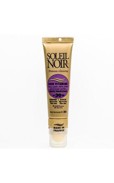 Фото крема Soleil Noir Soin Vitamine SPF 30 + Stick SPF 30
