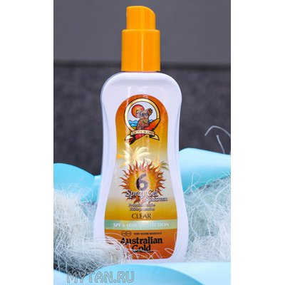 Фото крема SPF 6 Spray Gel