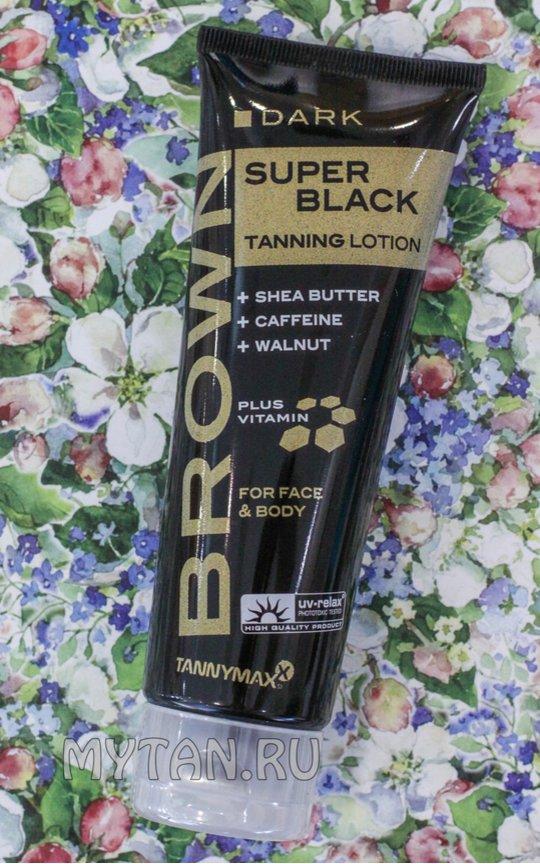 Фото крема Brown Super Black Tanning Lotion