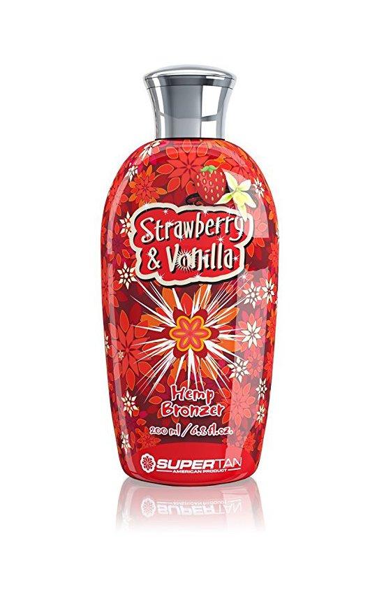 Фото крема SuperTan Strawberry & Vanilla