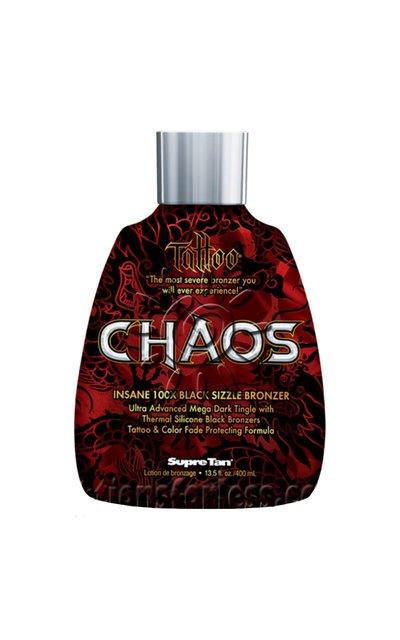 Фото крема Tattoo Chaos 100x Black Sizzle Bronzer
