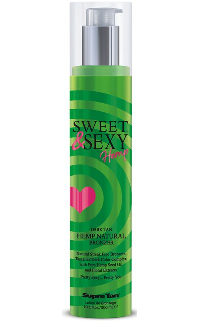 Фото крема Sweet & Sexy Hemp Natural Bronzer