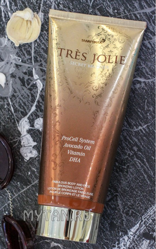 Фото крема Tres Jolie Secret Bronzer
