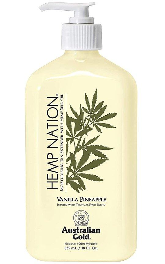 Фото крема Hemp Nation Vanilla Pineapple