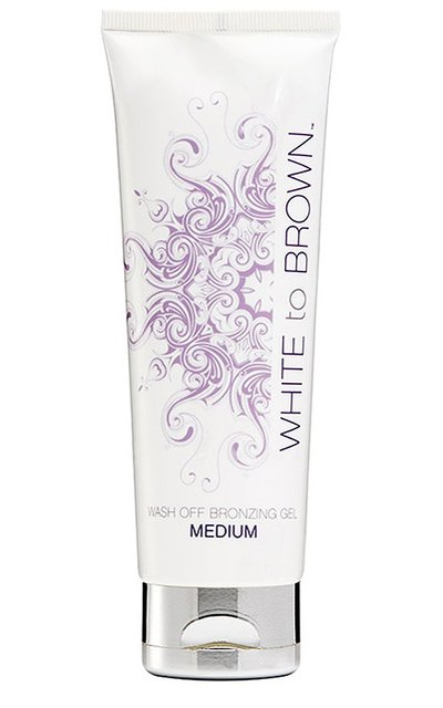 Фото крема White to Brown Wash Off Bronzing Gel Medium