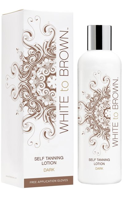 Фото крема White to Brown Self Tanning Lotion Dark