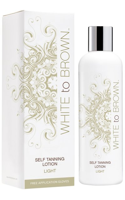 Фото крема White to Brown Self Tanning Lotion Light
