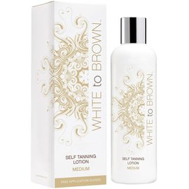 Фото крема White to Brown Self Tanning Lotion Medium