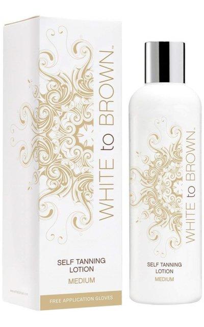 Фото крема White to Brown Self Tanning Lotion Medium