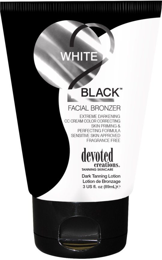 Фото крема White 2 Black Facial Bronzer