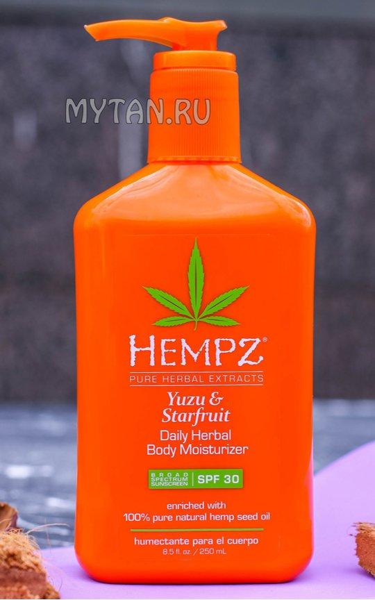Фото крема Hempz Yuzu&Starfruit Body Moisturizer SPF30